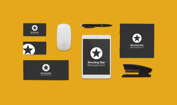 Shooting Star Management Branding